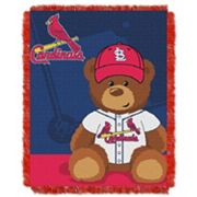 St. Louis Cardinals Baby Jacquard Throw