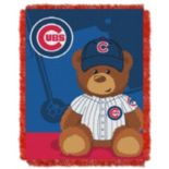 Chicago Cubs Baby Jacquard Throw