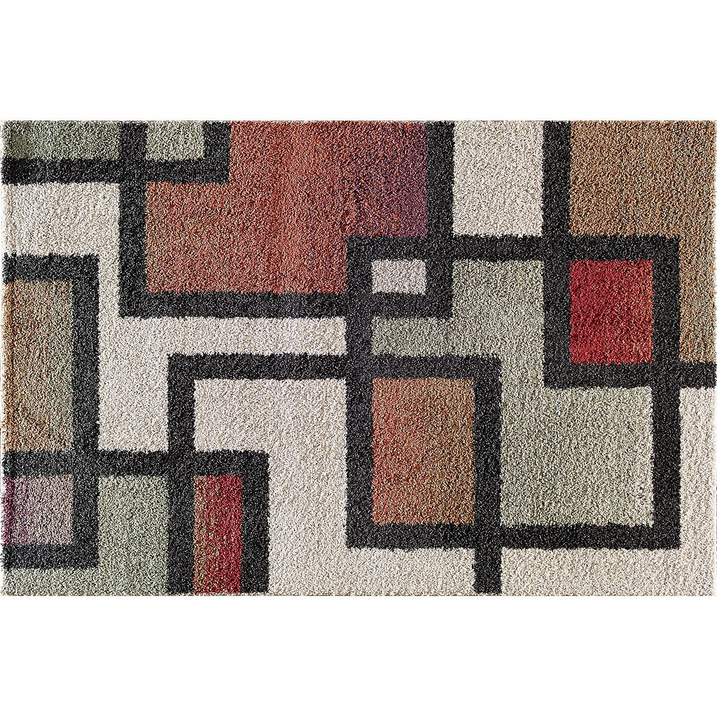 Natco Tulsa Sunridge Block Rug - 5' x 7'3''