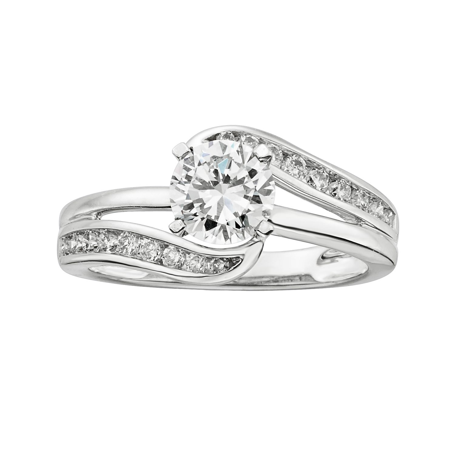Baguette And Round Wedding Band 5 Beautiful T W Round Cut