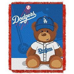 Los Angeles Dodgers Baby Jacquard Throw