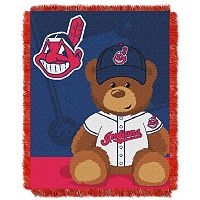 Cleveland Indians Baby Jacquard Throw