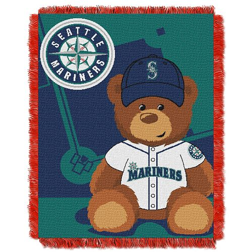 Seattle Mariners Baby Jacquard Throw