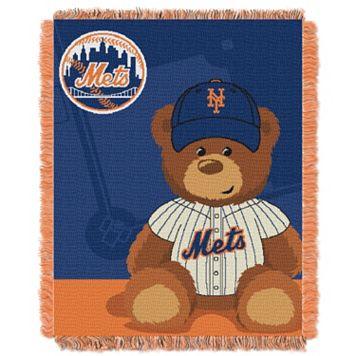 New York Mets Baby Jacquard Throw