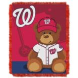 Washington Nationals Baby Jacquard Throw