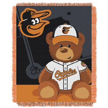 Baltimore Orioles Baby Jacquard Throw