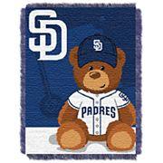 San Diego Padres Baby Jacquard Throw