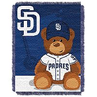 San Diego Padres Baby Jacquard Throw