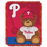 Philadelphia Phillies Baby Jacquard Throw