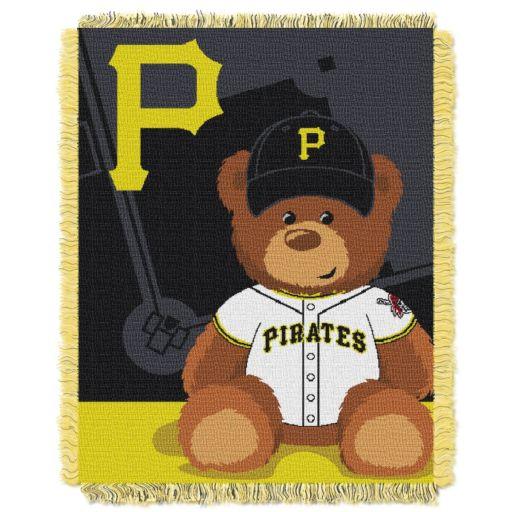 Pittsburgh Pirates Baby Jacquard Throw