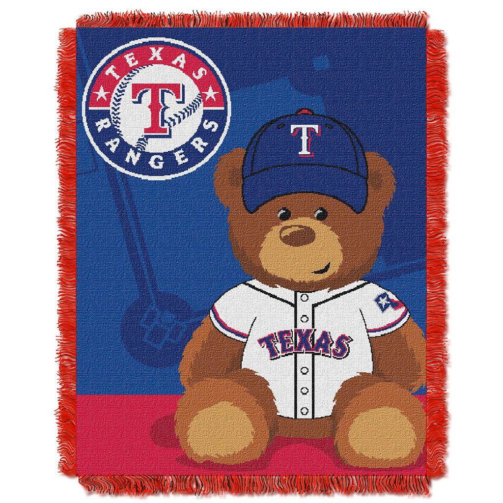 Texas Rangers Baby Jacquard Throw