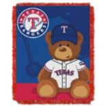 Texas Rangers Baby Jacquard Throw