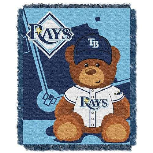 Tampa Bay Rays Baby Jacquard Throw