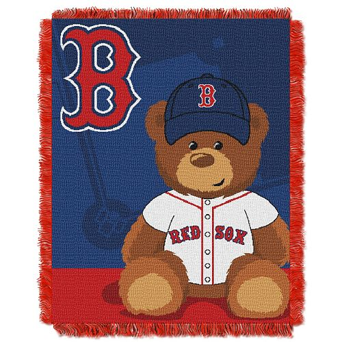Boston Red Sox Baby Jacquard Throw