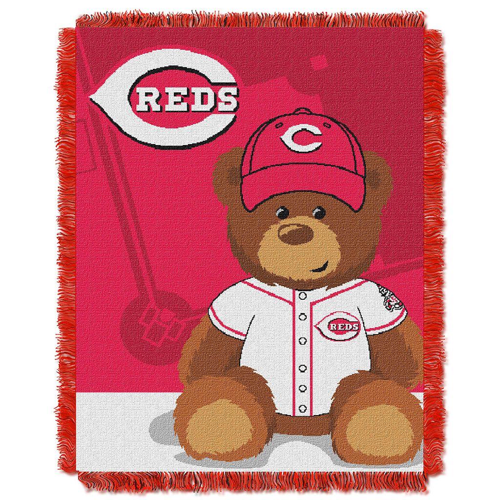 Cincinnati Reds Baby Jacquard Throw