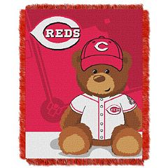 Cincinnati Reds Baby Jacquard Throw