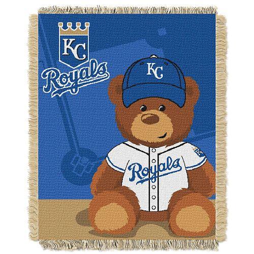 Kansas City Royals Baby Jacquard Throw