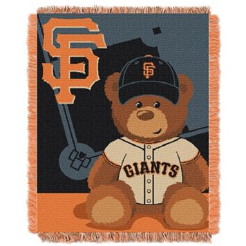 San Francisco Giants Baby Jacquard Throw