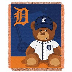 Detroit Tigers Baby Jacquard Throw