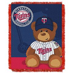 Minnesota Twins Baby Jacquard Throw