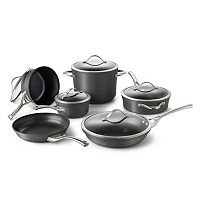 Calphalon Contemporary 11 pc Hard-Anodized Nonstick Cookware Set
