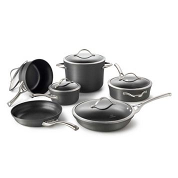Calphalon Contemporary 11-pc. Hard-Anodized Nonstick Cookware Set