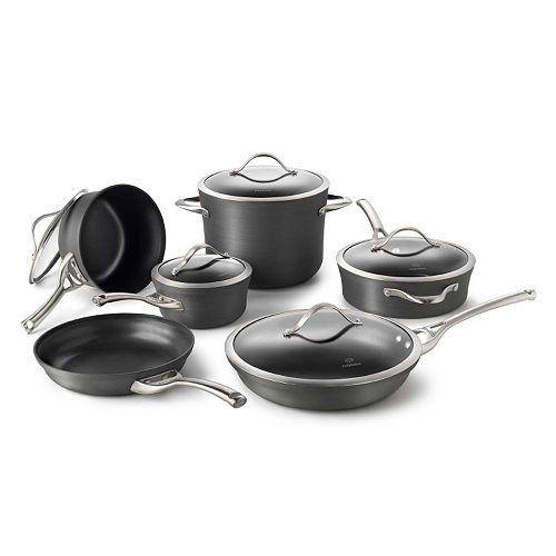 Calphalon Kitchen Outlet: Calphalon Contemporary 11-pc. Hard-Anodized Nonstick