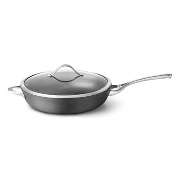 Calphalon Contemporary 13-in. Hard-Anodized Covered Nonstick Deep Skillet