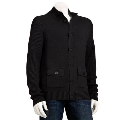 Marc Anthony Slim-Fit Button-Front Cardigan - Men