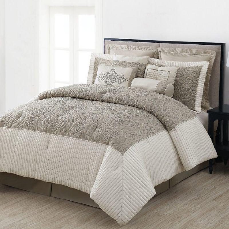 White Microfiber Comforter Set Kohl S