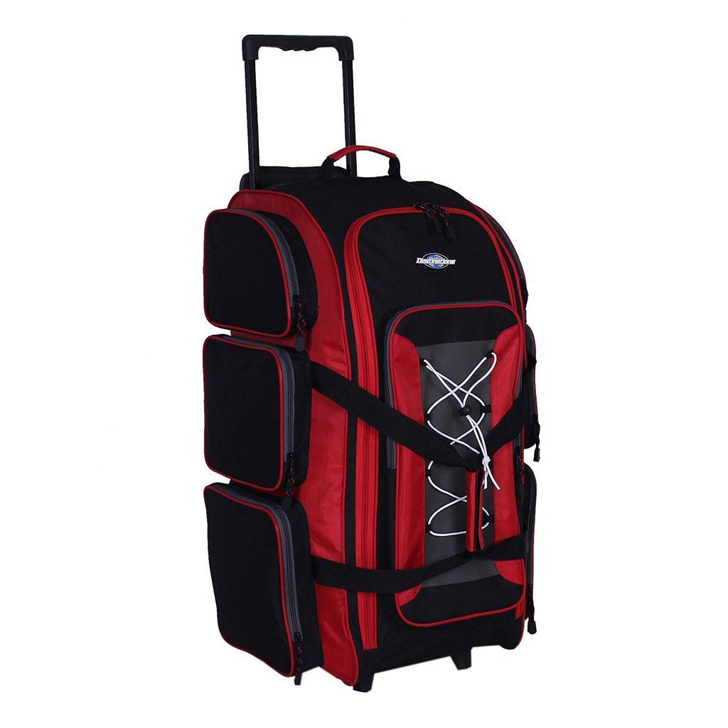 Destinations 30-Inch Multi-Pocket Rolling Duffel Bag