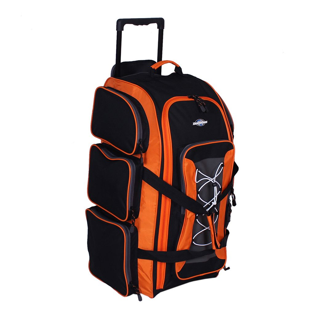 Destinations 30-Inch Multi-Pocket Rolling Duffel Bag