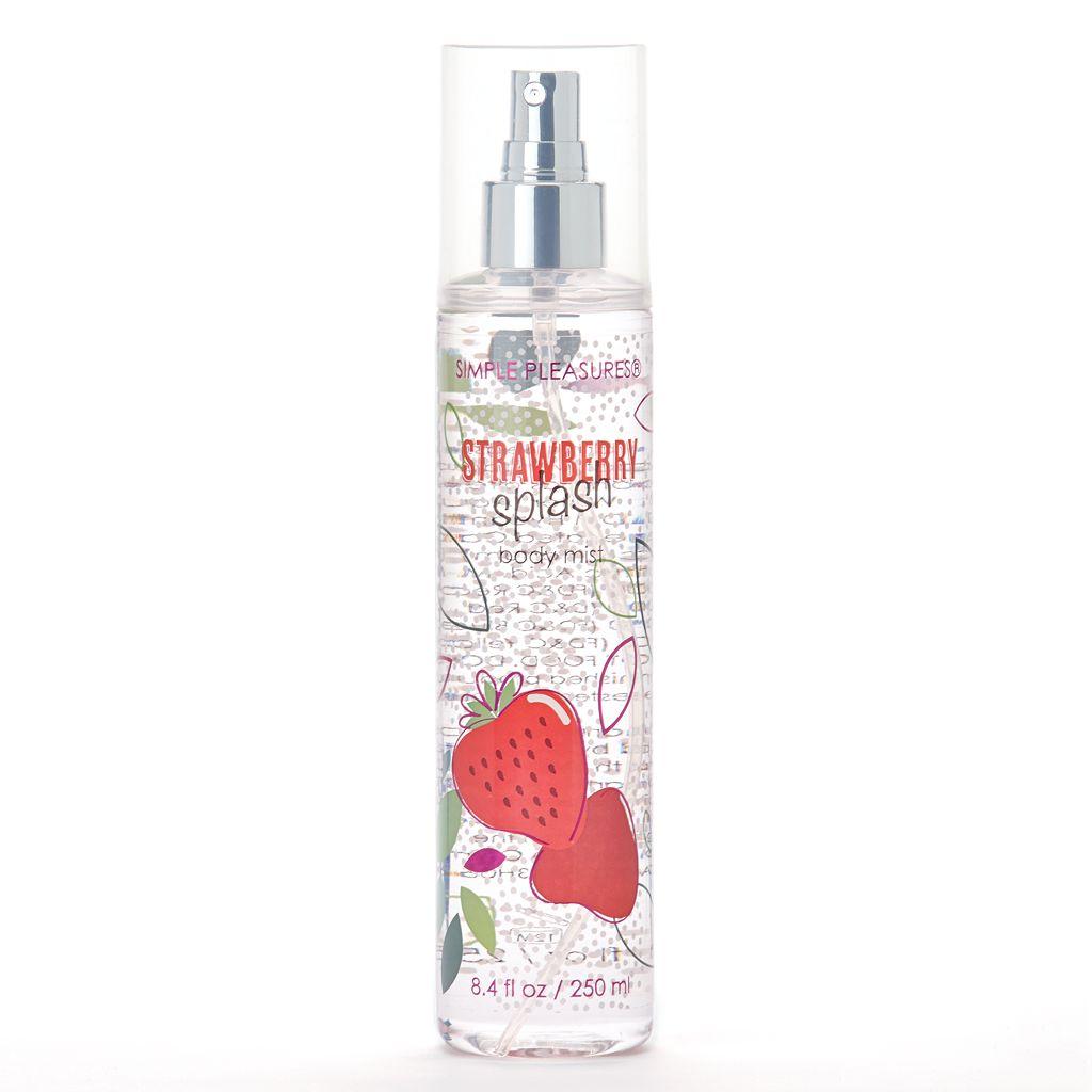 Simple Pleasures Strawberry Splash Body Mist