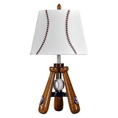 Baseball Theme Table Lamp