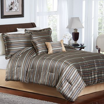 Colebrook 6-pc. Striped Comforter Set - Queen