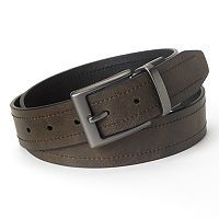 Columbia Reversible Logo Leather Belt - Men