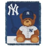 New York Yankees Baby Jacquard Throw