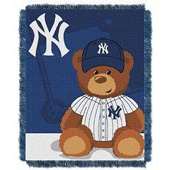 New York Yankees Baby Jacquard Throw