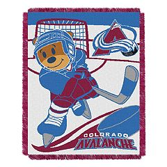 Colorado Avalanche Baby Jacquard Throw