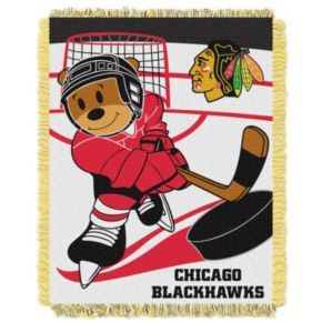 Chicago Blackhawks Baby Jacquard Throw