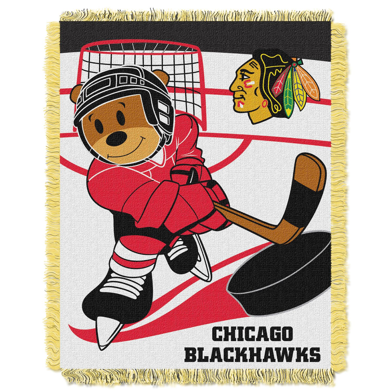 Chicago Blackhawks Baby Jacquard Throw