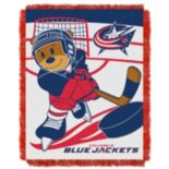 Columbus Blue Jackets Baby Jacquard Throw