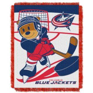 Columbus Blue Jackets Baby Jacquard Throw
