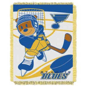 St. Louis Blues Baby Jacquard Throw