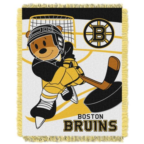Boston Bruins Baby Jacquard Throw