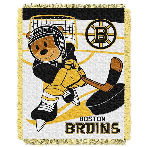 Boston Bruins Baby Jacquard Throw