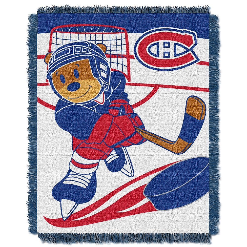 Montreal Canadiens Baby Jacquard Throw