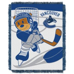 Vancouver Canucks Baby Jacquard Throw