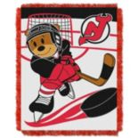 New Jersey Devils Baby Jacquard Throw