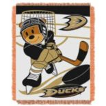 Anaheim Ducks Baby Jacquard Throw